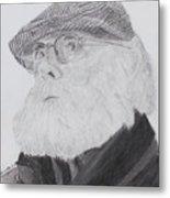 Old Man With Beard Metal Print