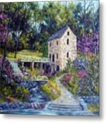 Old Mill   Spring Metal Print