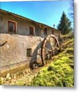 Old Mill - Antico Mulino Metal Print