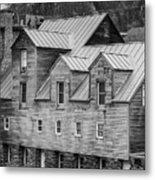 Old Mill Buildings Metal Print