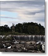 Old Mill House Metal Print