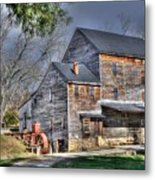 Old Mill Nelson County Virginia Metal Print