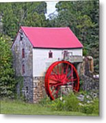 Old Mill Of Guilford Squared Metal Print