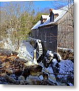 Old Mill On The Tom Tigney River, Nova Scotia Metal Print