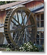 Old Mill Store Entry To Caverns Metal Print