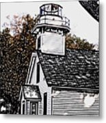 Old Mission Point Metal Print