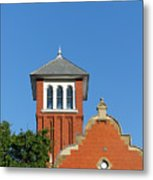 Old Montreal Fire Station Metal Print