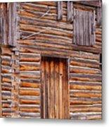 Old Mormon Barn Metal Print
