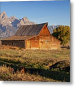 Old Mormon Farm Metal Print