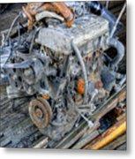 Old Motor Metal Print