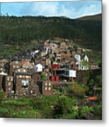 Old Moutain Village In Portugal Metal Print