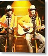 Old Neil And Young Neil Together Metal Print
