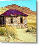 Old Nevada Bordello Metal Print