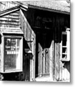 Old New England Town Shack Metal Print
