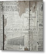 Old News Metal Print