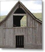 Old Oregon Barn Metal Print