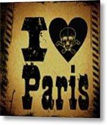 Old Paris Metal Print