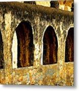 Old Patzcuaro Wall 3 Metal Print