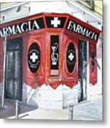 Old Pharmacy Metal Print