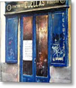 Old Plumbing-madrid  Metal Print by Tomas Castano