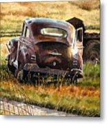 Old Plymouth Metal Print