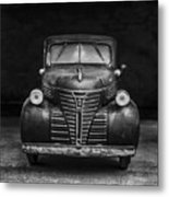 Old Plymouth Truck Square Metal Print