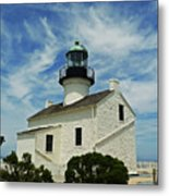 Old Point Loma Lighthouse Metal Print