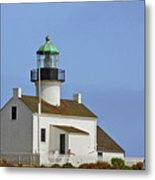 Old Point Loma Lighthouse San Diego California Metal Print by Christine Till