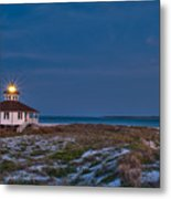 Old Port Boca Grande Lighthouse Metal Print by Rich Leighton