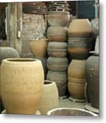 Old Pottery Workshop Metal Print
