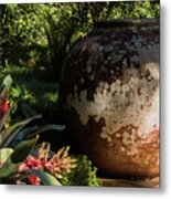 Old Pottery Metal Print