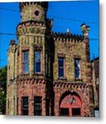 Old Racine Fire Station Metal Print
