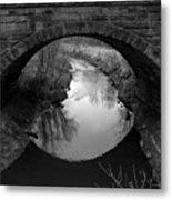 Old Railroad Bridge Metal Print