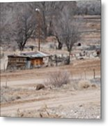 Old Ranch House Metal Print