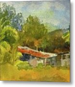 Old Ranch In Costa Rica Metal Print