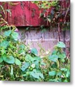 Old Red Barn II Metal Print