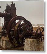 Old Rice Well Pump Metal Print
