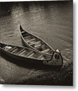 Old River Metal Print