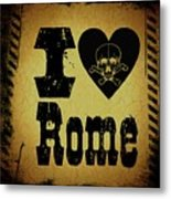 Old Rome Metal Print