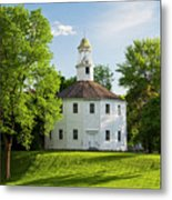 Old Round Church Spring Metal Print