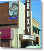Old Roxy Theater In Muskogee, Oklahoma Metal Print