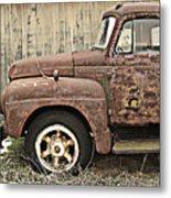 Old Rust Truck Metal Print