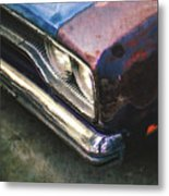 Old Rusty Car Metal Print