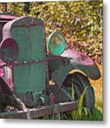 Old Rusty Truck C1002 Metal Print