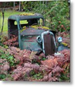 Old Rusty Truck I C1000 Metal Print