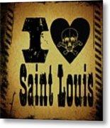 Old Saint Louis Metal Print