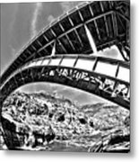 Old Salt River Bridge - Arizona Metal Print