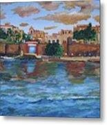 Old San Juan Gate, 4x6 In. Original Is Sold Metal Print