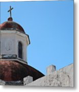 Old San Juan Puerto Rico Downtown Church Metal Print