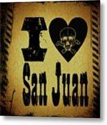 Old San Juan Metal Print